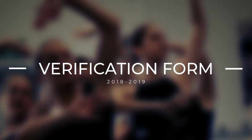 HANDBOOK VERIFICATION FORM-south ga ballet